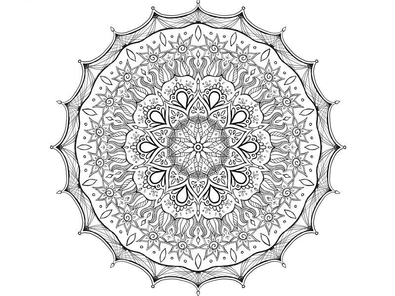 Image of the Monday Mandala number 1